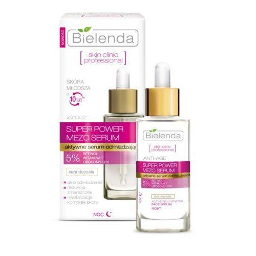 Bielenda Skin Clinic Professional Aktywne serum odmładzające na noc 30ml z kategorii Kremy na noc