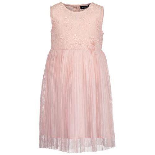 75fae11bea Blue Seven sukienka dziewczęca z koronką i plisowaną spódnicą 98 różowa  (4055852529731) 145