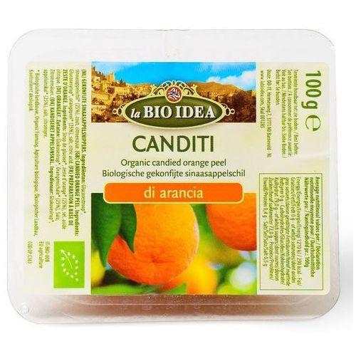 Skórka pomarańczy kandyzowana BIO 100g- LA BIO IDEA (8717496900050)