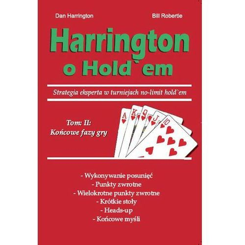 "Książka ""HARRINGTON O HOLD'EM"" Cz. 2"