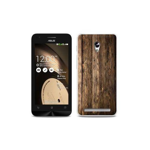 d2af20fc267a ... Asus Zenfone C - etui na telefon Foto Case - drewniane deski