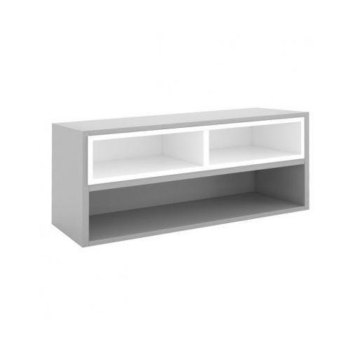 Biblioteka MODUL 400 x 1000 mm + wewnętrzny moduł, szary/biały