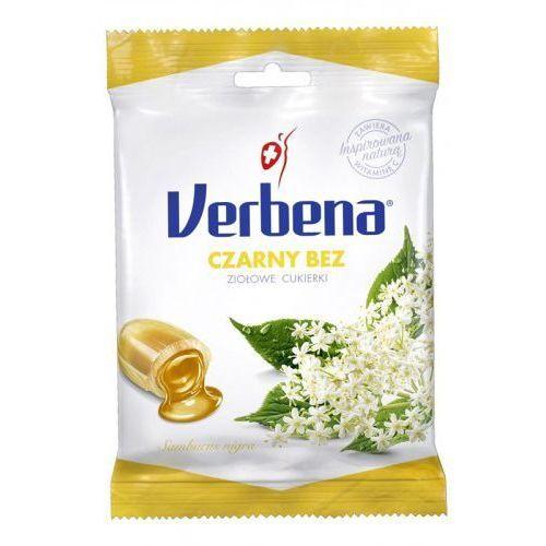 Cukierki ziołowe z czarnym bzem i witaminą C 60 g Verbena, 8585000207953
