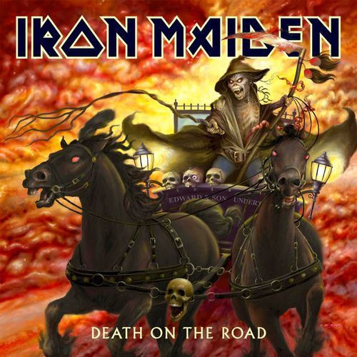 IRON MAIDEN - DEATH ON THE ROAD (LIVE) - Album 2 płytowy (CD)