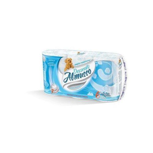Papier toaletowy almusso decorato, 3 warstwy, celuloza - 36 rolek marki 4z
