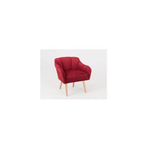 Fotel inspirowany naturą, tapicerowany flower - różne kolory marki Customform