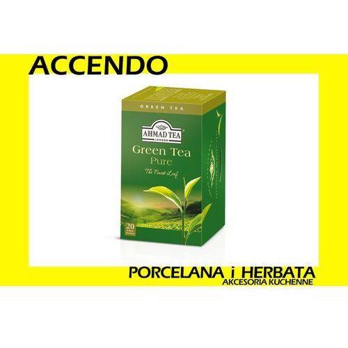 Ahmad herbata green tea zielona 20 kop aluminowych marki Ahmad tea
