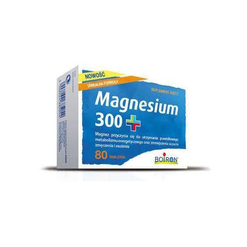 BOIRON Magnesium 300+ 0,5g x 80 tabletek