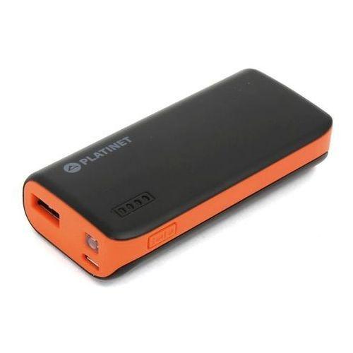 Bateria power bank pmpb44bo 4400mah pomarańczowa marki Platinet