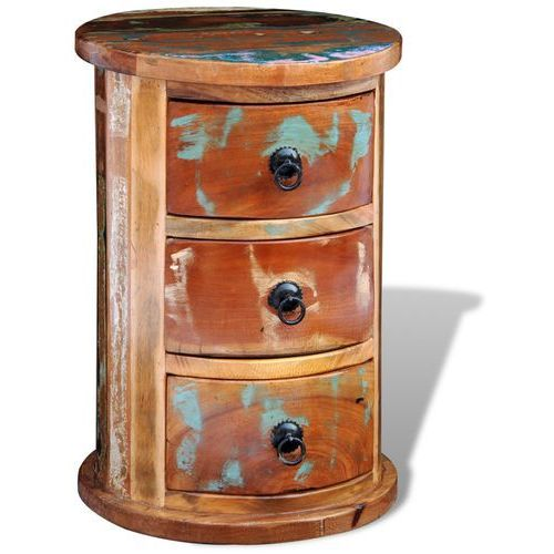 vidaXL Sekretarzyk vintage, szafka z trzema szufladami - produkt z kategorii- szafki