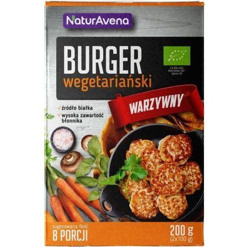 Burgery Wegetariańskie Warzywne w Proszku 200g - NaturAvena - 200g (5902367408343)