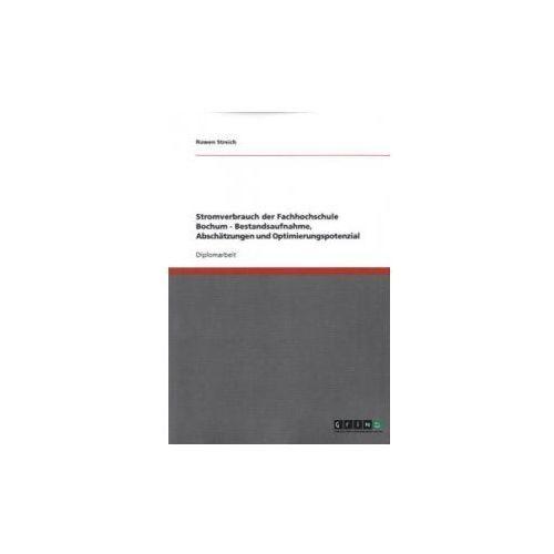 Stromverbrauch der Fachhochschule Bochum - Bestandsaufnahme, Abschätzungen und Optimierungspotenzial