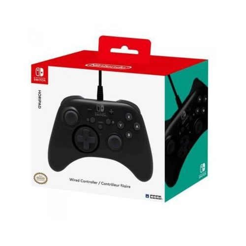Kontroler przewodowy HORI NSW-001U HORIPAD do Nintendo Switch (0873124006049)