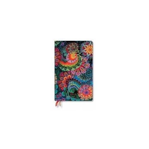 Paperblanks Kalendarz książkowy maxi 2019 12m moonlight