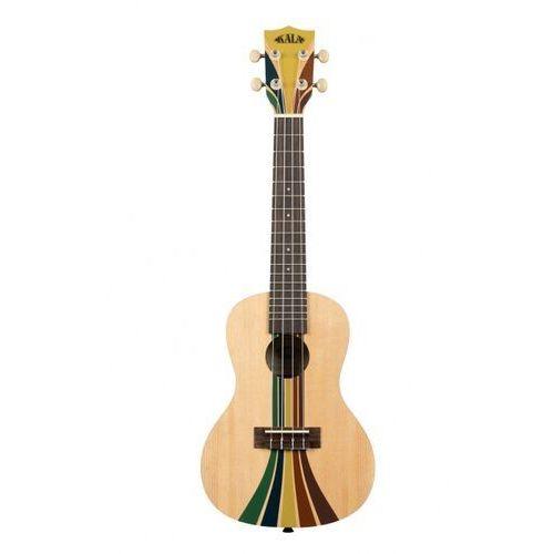Kala makala riptide surfboard, ukulele koncertowe z pokrowcem