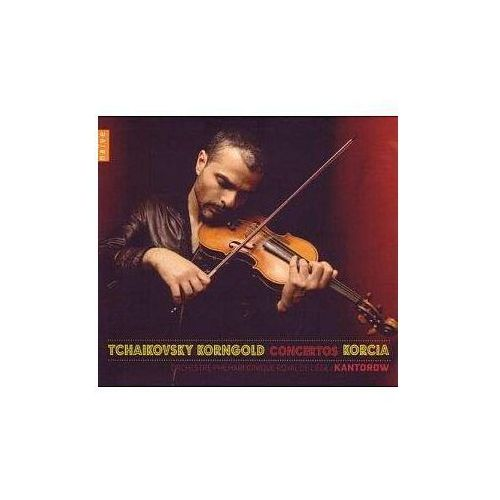 TCHAIKOVSKY, KORNGOLD - Laurent Korcia (Płyta CD) (0822186052808)