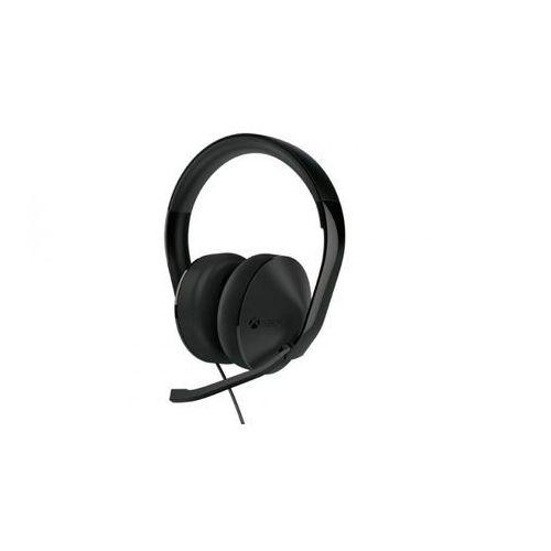Zestaw słuchawkowy MICROSOFT S4V-00013 Xbox One Stereo Headset Czarny (0889842159516)