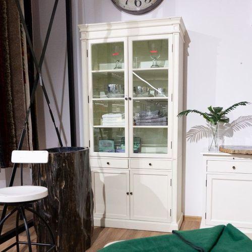kredens lupo white, 104 × 42 × 220 marki Dekoria