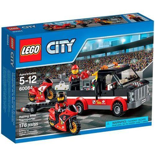 Lego City TRANSPORTER MOTOCYKLI 60084 z kategorii: klocki dla dzieci