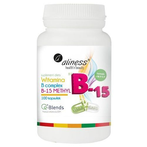 Kapsułki Aliness Witamina B Complex B-15 Methyl - 100 kapsułek