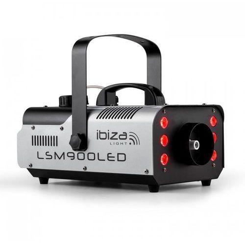 LSM900LED Maszyna do wytwarzania mgły 900W 1 litr DMX RGB-LED