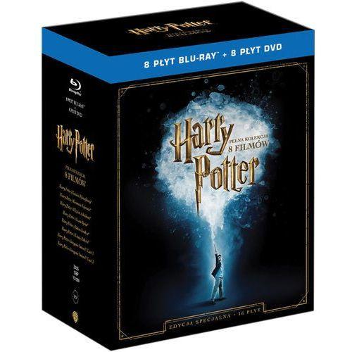 Harry Potter. Pełna Kolekcja 8 Filmów. Edycja specjalna (Blu-Ray) - Chris Columbus; Alfonso Cuaron, Mike Newell, David Yates DARMOWA DOSTAWA KIOSK RUC