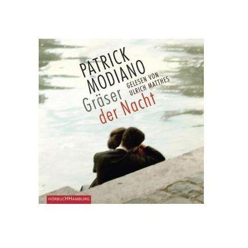 Modiano, patrick Gräser der nacht, 4 audio-cds (9783899039405)