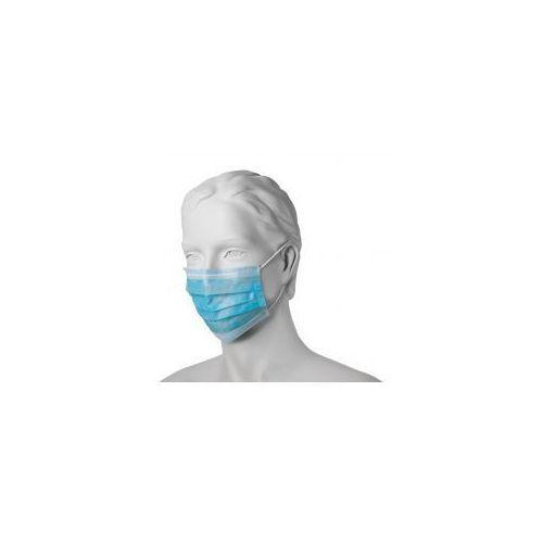 Mercator Maseczka chirurgiczna - gumka niebieska 50szt.