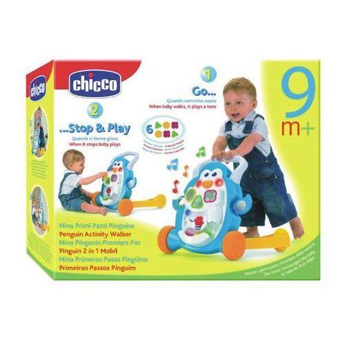 CHICCO Grający pchacz Pingwin (65262) - sprawdź w Puchatkolandia.pl