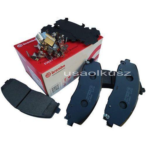 Brembo Klocki hamulcowe przednie tarcze 330mm volkswagen routan 2012 68144163ae