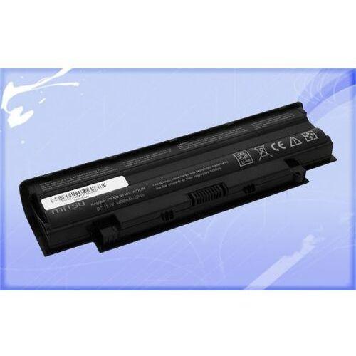 Mitsu Nowa bateria do laptopa dell 13r, 14r, 15r (4400mah)