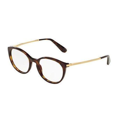 Dolce & gabbana Okulary korekcyjne dg3242f asian fit 502