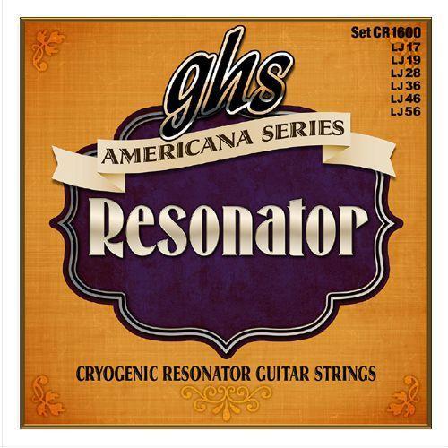 americana series - resonator string set, regular,.017-.056 marki Ghs