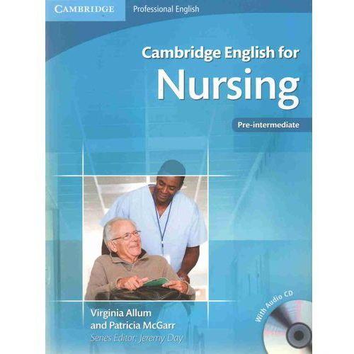 Cambridge English for Nursing Pre-intermediate Student's Boo, Allum Virginia