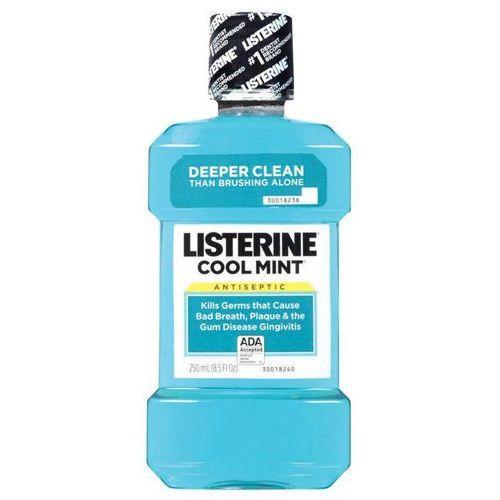 Johnson&johnson Listerine cool mint płyn do płukania jamy ustnej 250ml