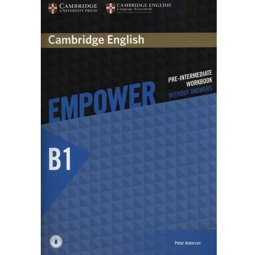 Cambridge English Empower Pre-Intermediate Workbook Without Answers with Audio, Anderson Peter