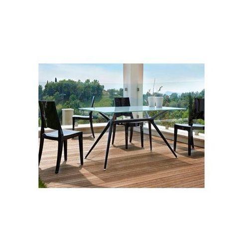 Stół Metropolis V szaroniebieski nogi czarne Machina Meble 5311-413-7011-VN-002 - produkt dostępny w sfmeble.pl
