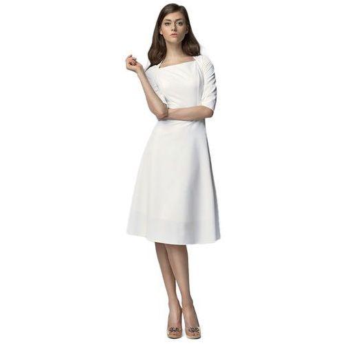 Nife Sukienka midi - ecru - s63