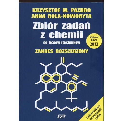 Zbiór zadań z chemii do liceów i techników zakres rozszerzony (9788375941067)