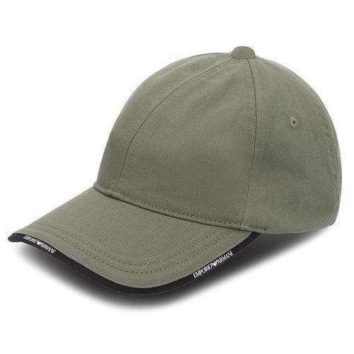 Czapka z daszkiem EMPORIO ARMANI - 627502 8A552 00084 Military Green