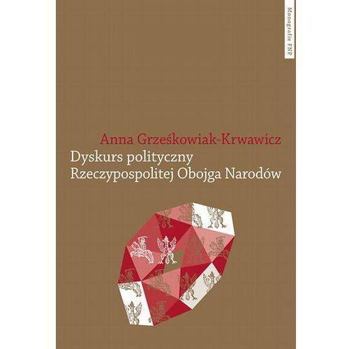 Dyskurs polityczny Rzeczypospolitej Obojga Narodów, Anna Grześkowiak-Krwawicz