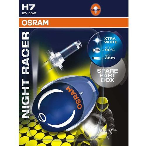 H7 Night Racer +90% 12V 55W żarówki motocyklowe Osram (4008321623546)