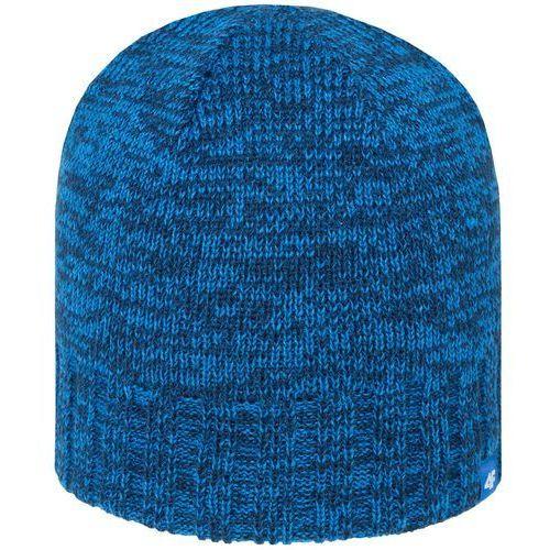 4f Męska ciepła czapka z polarem h4z18 cam008 32m denim l/xl