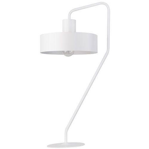 Stojąca LAMPKA biurkowa JUMBO 50108 Sigma stołowa LAMPA okrągła metalowa czarna (5902846813088)