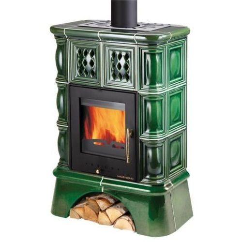 49445456 Piec wolnostojący Haas+Sohn 2,6-8,3kW Treviso (kolor: kaflowy cokół, czarny, kafle zielone) - sprawdź w wybranym sklepie