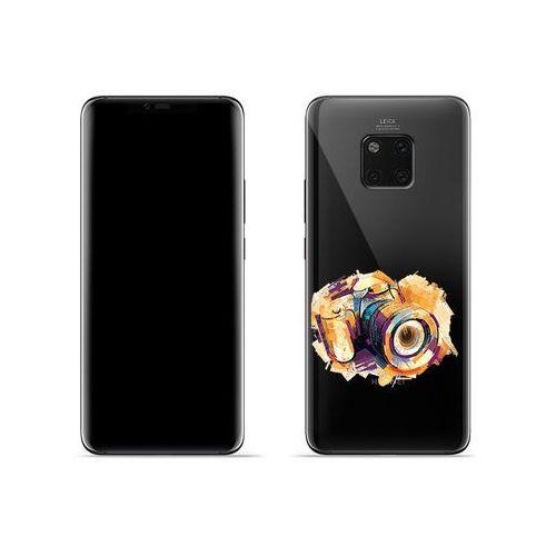 Huawei Mate 20 Pro - etui na telefon Crystal Design - Kolorowy aparat, kolor wielokolorowy