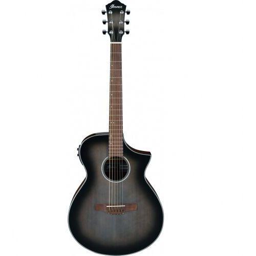 Ibanez aewc11-tcb transparent charcoal burst high gloss gitara elektroakustyczna