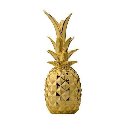 Dekoracja Ananas 2 Bloomingville złoto
