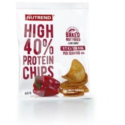 chipsy wysokobiałkowe 40 g marki Nutrend