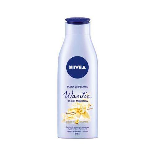 NIVEA 200ml Wanilia i olejek migdałowy Olejek do ciała w balsamie